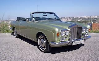 Rolls Royce Corniche Rent Beja