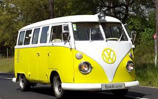 Volkswagen T1 Splitscreen Amarela Rent Évora