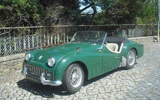 Triumph TR3A Rent Braga