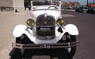 Ford A Phaeton Branco Rent Lisboa (Lisabon)