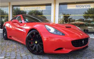 Ferrari Califórnia Rent Aveiro
