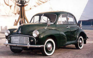 Morris Minor 4 door saloon Alugar Lisboa