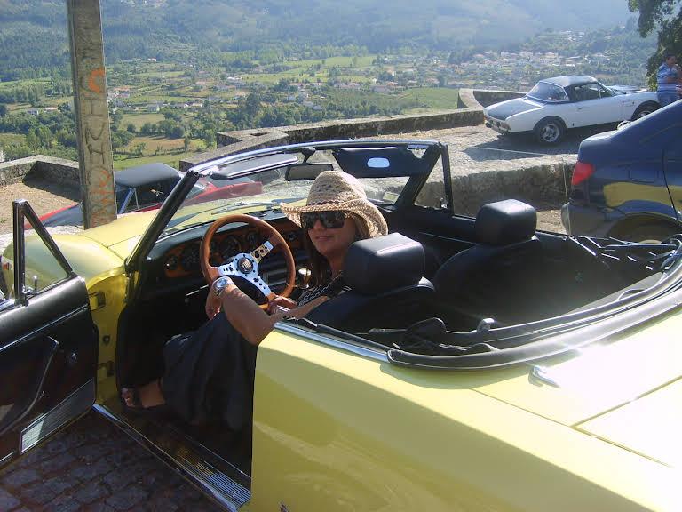Fiat 124 Spider Hire Leça do Balio
