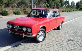 Alfa Romeo 2000 Berlina Rent Porto