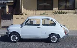 Fiat 600d Rent Porto