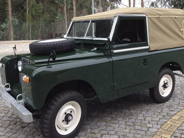 Land Rover Serie 2 Hire Antas