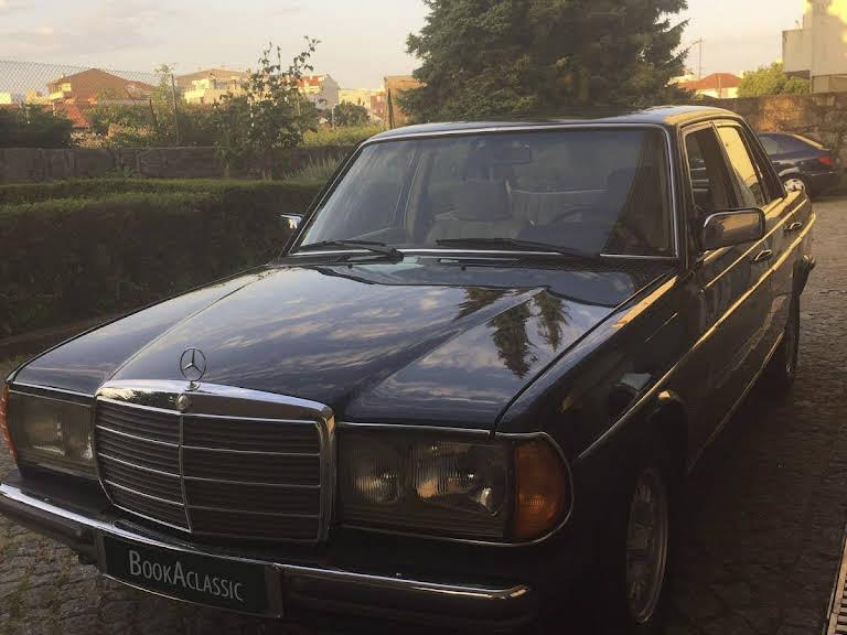 Mercedes-Benz 300 D Hire Porto