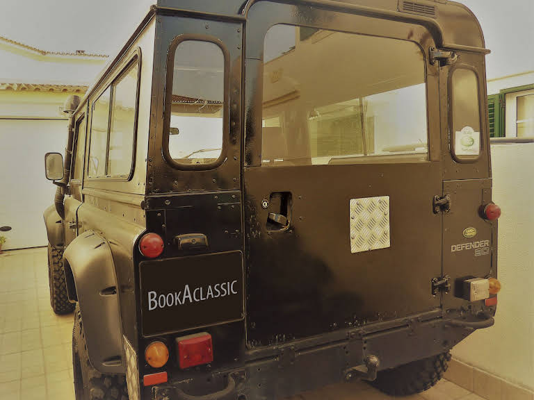 Land Rover Defender 90 Hire Benavente