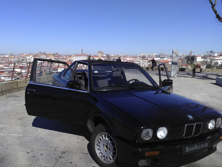 BMW 316 TC Baur Cabriolet Hire Gaia