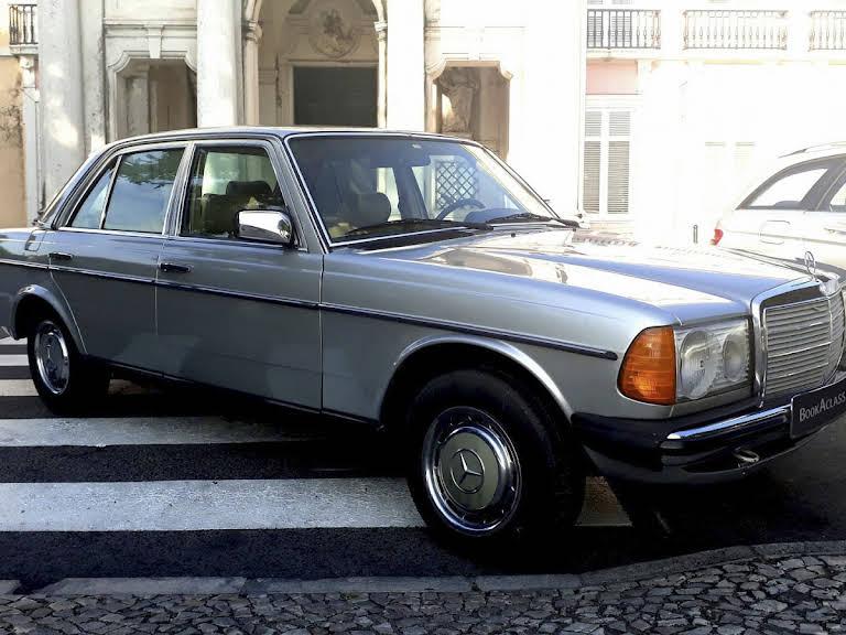 Mercedes-Benz W123 Hire Lisboa