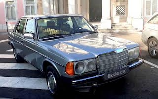 Mercedes W123 Rent Leiria