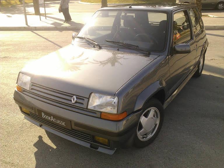 Renault 5 Gt Turbo Hire Agualva-cacém