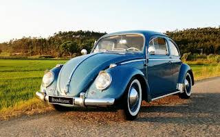 Volkswagen Carocha 1200 Limusine De Luxe Rent Coimbra