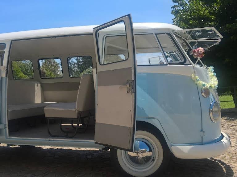 "Volkswagen T1 ""Pão de Forma"" Hire Matosinhos"