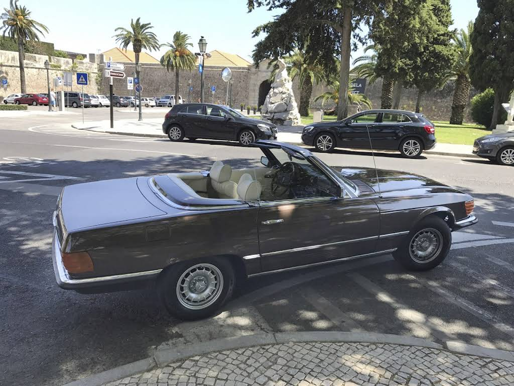 Mercedes-Benz 350 SL Hire Estoril