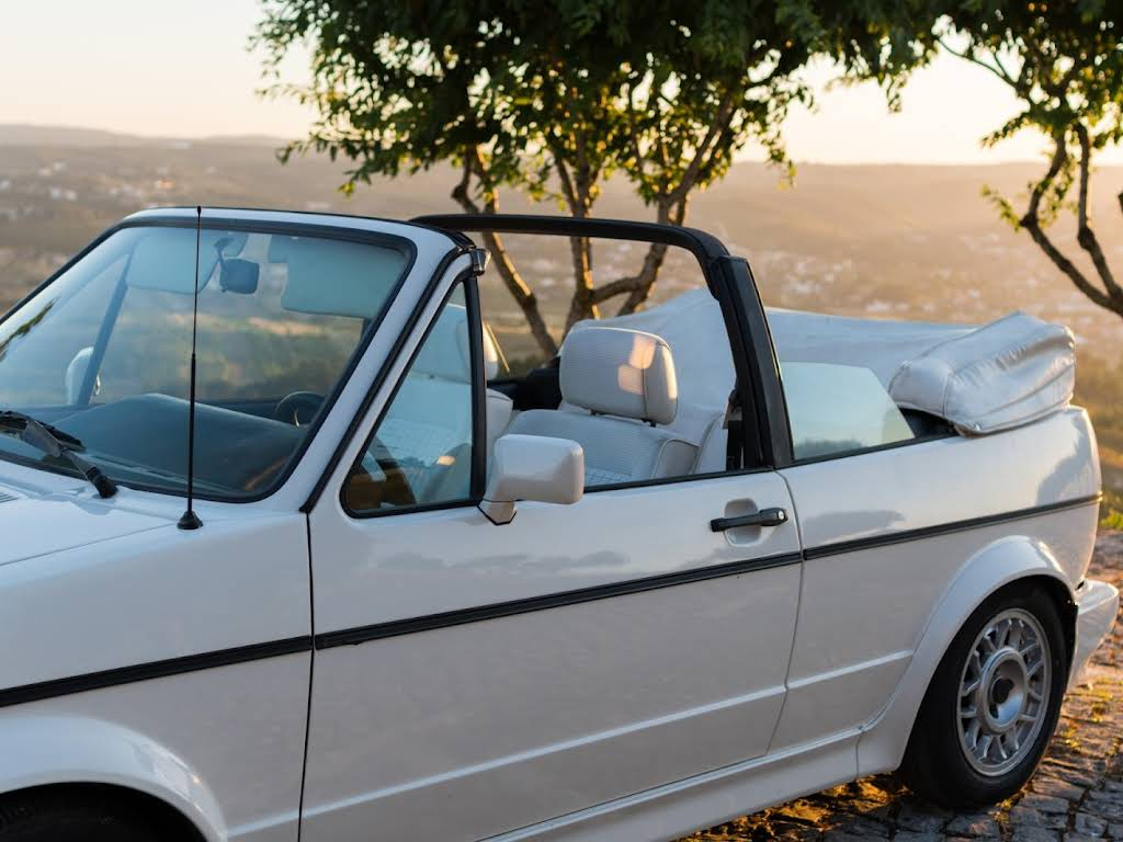 VW Golf Cabriolet Hire Fatima