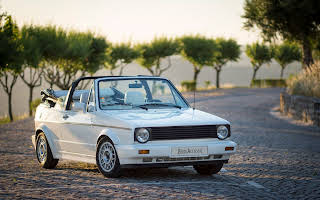 VW Golf Cabriolet Rent Leiria