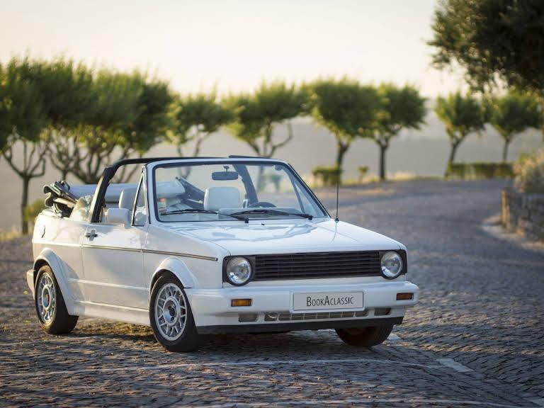 VW Golf Cabriolet Hire Fatima